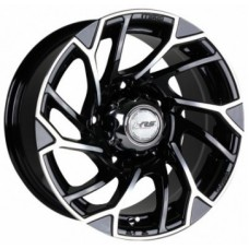 Диски Racing-Wheels H-519 8,0х16 PCD:5x139,7 ET:0 DIA:108.2 цвет:BK/FP