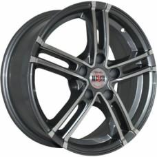 Диски Alcasta M06 6,0х15 PCD:4x100 ET:48 DIA:54.1 цвет:GMF (темно-серый,полировка)