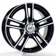 Диски LS-Wheels Y242 6,0х14 PCD:4x100 ET:38 DIA:73.1 цвет:BFP