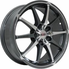 Диски Alcasta M10 6,0х15 PCD:4x100 ET:36 DIA:60.1 цвет:GMF (темно-серый,полировка)