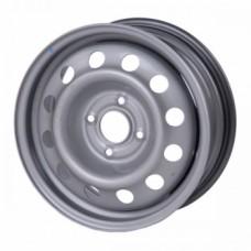 Диски Тзск Hyundai-Solaris-Kia-Rio 6,0х15 PCD:4x100 ET:48 DIA:54.1 цвет:Серебро