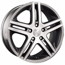 Диски Racing-Wheels H-214 7,0х17 PCD:5x112 ET:45 DIA:57.1 цвет:GM/FP