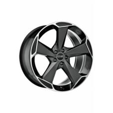 Диски O.Z-Racing Aspen-HLT 9,0х20 PCD:5x108 ET:43 DIA:63.4 цвет:Matt Black Diamond Cut