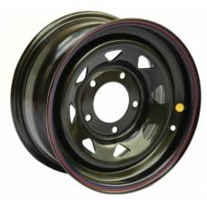 Диски Off-Road-Wheels УАЗ 10,0х15 PCD:5x139,7 ET:-44 DIA:110.0 цвет:BL (черный глянцевый)