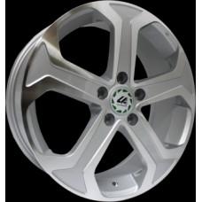 Диски LS-Wheels H15 7,0х18 PCD:5x114,3 ET:50 DIA:64.1 цвет:SF (серебро,полировка)