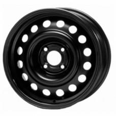 Диски Trebl X40039 5,5х15 PCD:4x100 ET:45 DIA:54.1 цвет:BL (черный глянцевый)