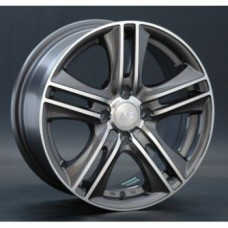 Диски LS-Wheels 191 7,0х16 PCD:5x110 ET:39 DIA:65.1 цвет:GMF (темно-серый,полировка)