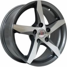 Диски Alcasta M09 6,0х15 PCD:4x100 ET:36 DIA:60.1 цвет:GMF (темно-серый,полировка)
