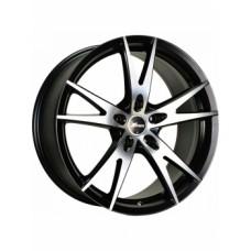 Диски LS-Wheels AF-11 7,0х17 PCD:5x114,3 ET:35 DIA:67.1 цвет:MBF (черный,полировка)