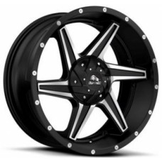 Диски Buffalo BW-011 9,0х20 PCD:5x150 ET:38 DIA:110.1 цвет:Satin Black/Machined
