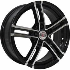 Диски Alcasta M06 6,0х15 PCD:4x100 ET:36 DIA:60.1 цвет:BKF (черный)