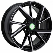 Диски Replica-Top-Driver-SS SK9 6,5х16 PCD:5x112 ET:50 DIA:57.1 цвет:BKF (черный)