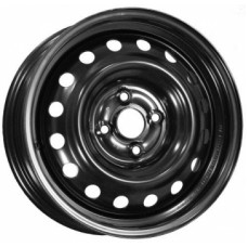 Диски Mefro LD515001B-Lada-Largus-Vesta 6,0х15 PCD:4x100 ET:50 DIA:60.1 цвет:BL (черный глянцевый)