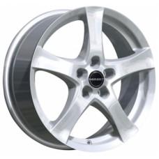 Диски Borbet F 6,0х16 PCD:5x112 ET:48 DIA:66.6 цвет:Brilliant Silver