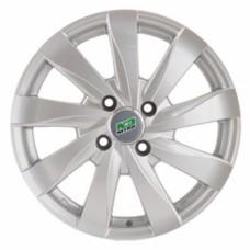 Диски Nitro Y465 6,0х15 PCD:4x100 ET:48 DIA:54.1 цвет:S (серебро)
