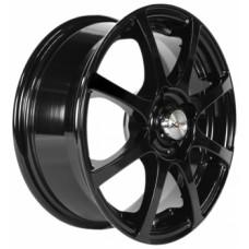 Диски LS-Wheels X-114 5,5х14 PCD:4x100 ET:35 DIA:67.1 цвет:BK