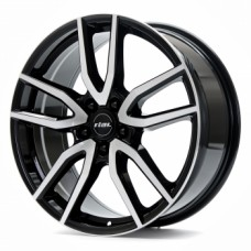 Диски Rial Torino 7,5х17 PCD:5x108 ET:48 DIA:70.1 цвет:Diamant Black Front Polished
