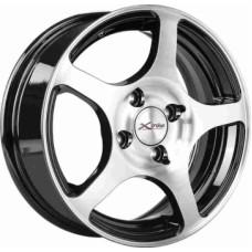 Диски LS-Wheels X-103 5,5х14 PCD:4x100 ET:45 DIA:67.1 цвет:BK/FP