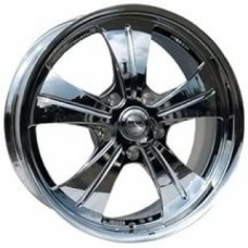 Диски Racing-Wheels HF-611 10,0х22 PCD:5x120 ET:45 DIA:72.6 цвет:Chrome