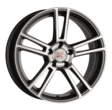 1000-Miglia MM1002 8,5х19 PCD:5x114,3  ET:42 DIA:67.1 цвет:Dark Anthracite Polished